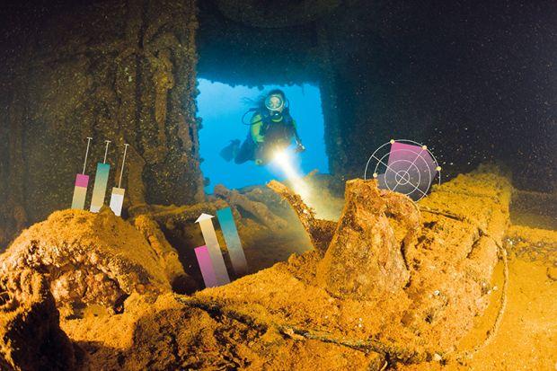 Exploring underwater