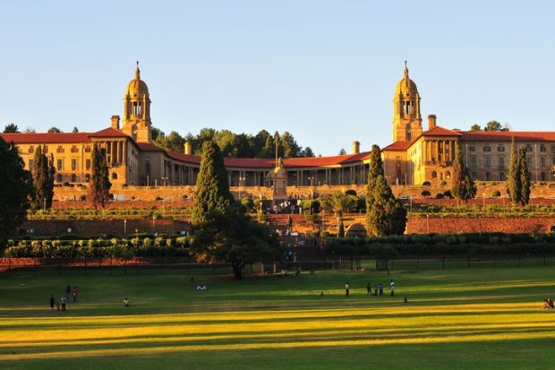 Union Buildings, Pretoria, seat of the South African government