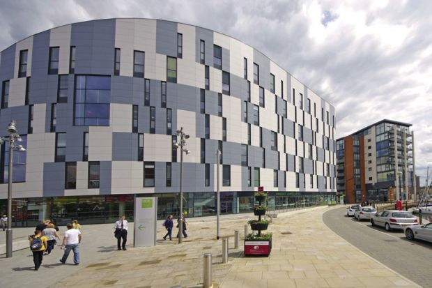 University of Suffolk campus building
