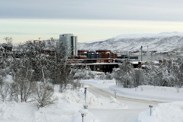 University of Tromsø campus buildings, Tromsø, Norway