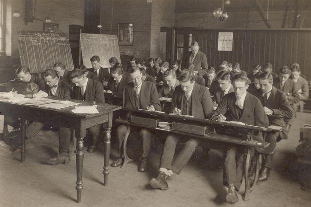 past classroom