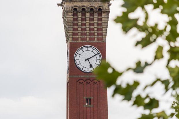University of Birmingham clock tower