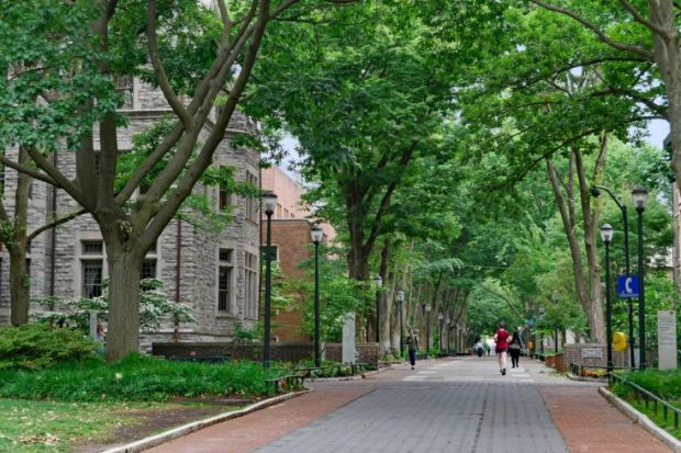 WSJ/THE US College Rankings 2020: Pennsylvania and Johns