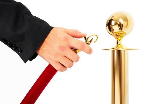 Unlocking red velvet rope