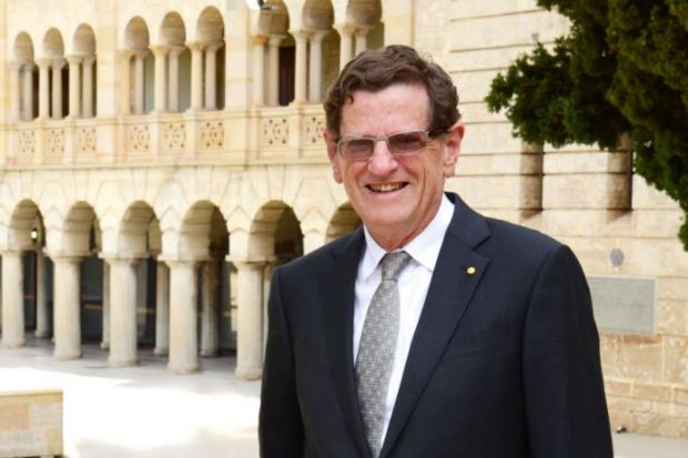 University of Western Australia chancellor Robert French