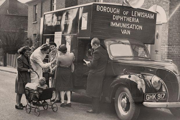 Vaccination van