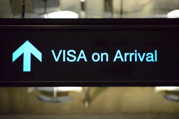 Visa airport