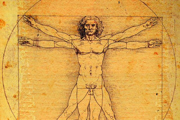 Vitruvian Man, by Leonardo da Vinci