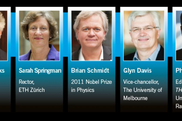 THE World Academic Summit speakers