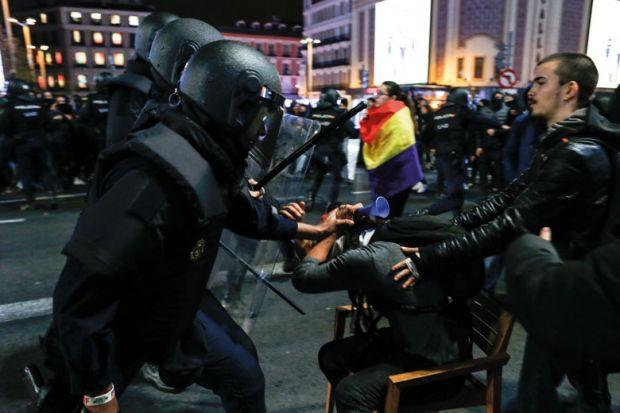 Catalan protest