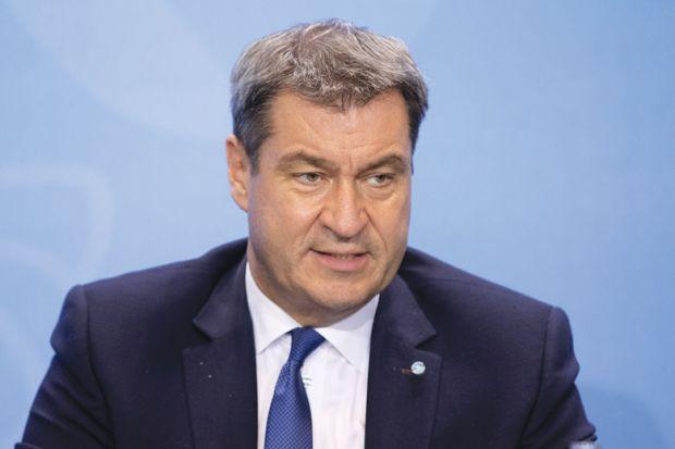 Bavarian Governor Markus Soeder