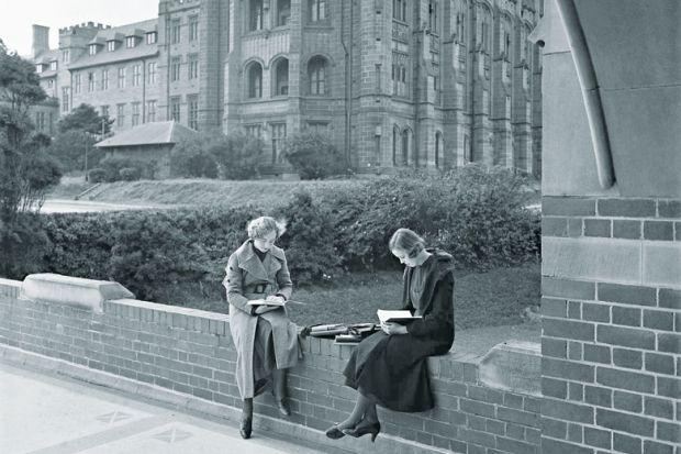 Sydney University women undergraduates 1934