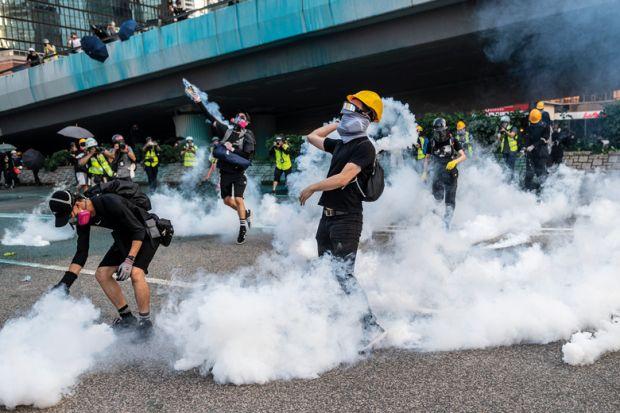 Steam throw_bridge_protest_getty.jpg