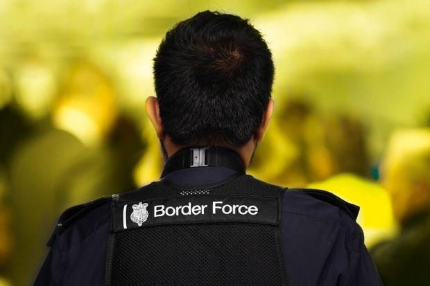 British border guard