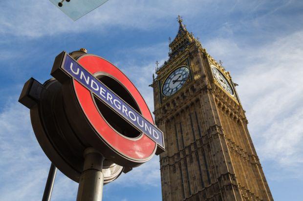 Westminster underground station