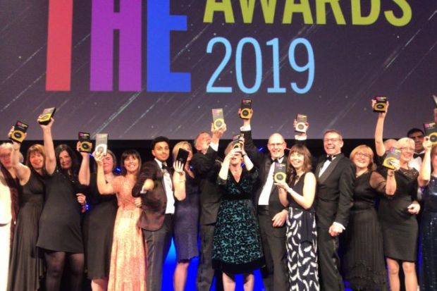 THE Awards 2019 winners