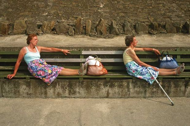 women-on-bench