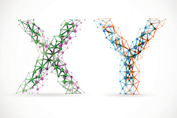 X and Y letters