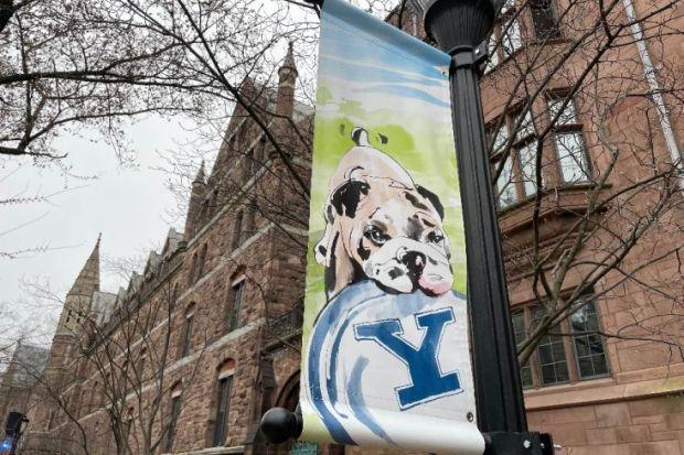 Yale University poster