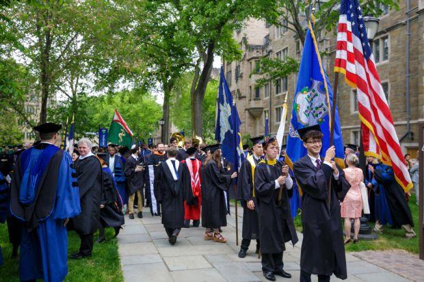 Yale graduation