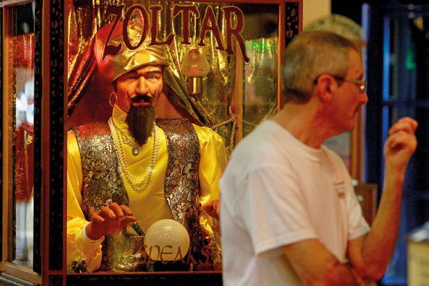 Zoltar arcade cabinet