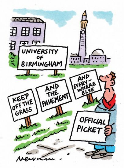 Birmingham cartoon