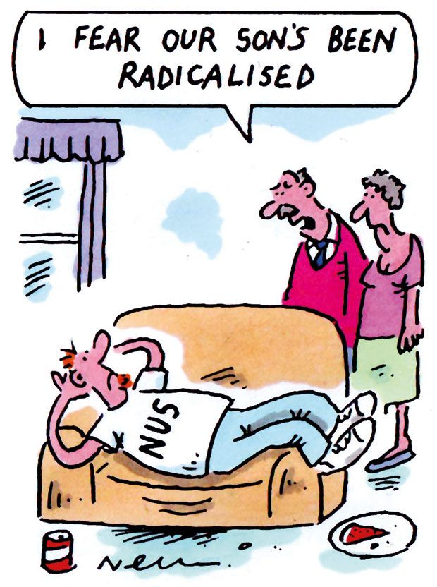 The week in higher education cartoon (23 July 2015)