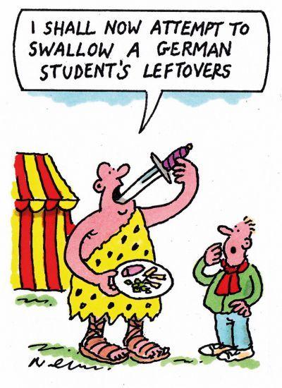 The week in higher education cartoon (8 December 2016)