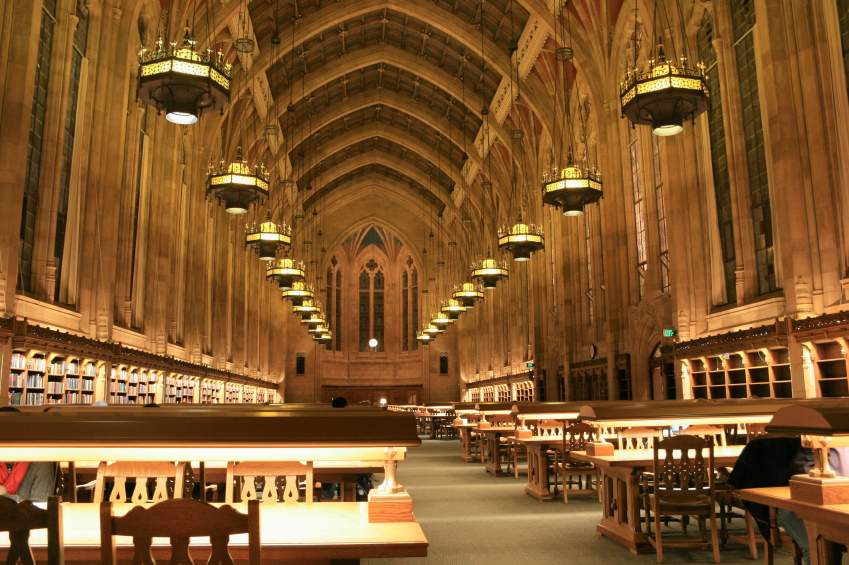 Suzzallo library at the University of Washington in Seattle