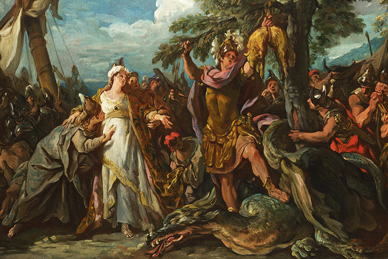 The Capture of the Golden Fleece painting, Jean François de Troy