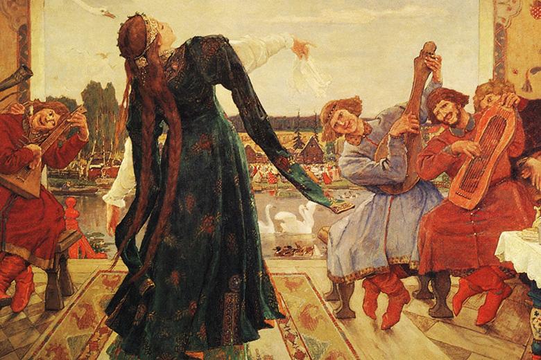 The Frog Tsarevna painting, Victor Vasnetsov
