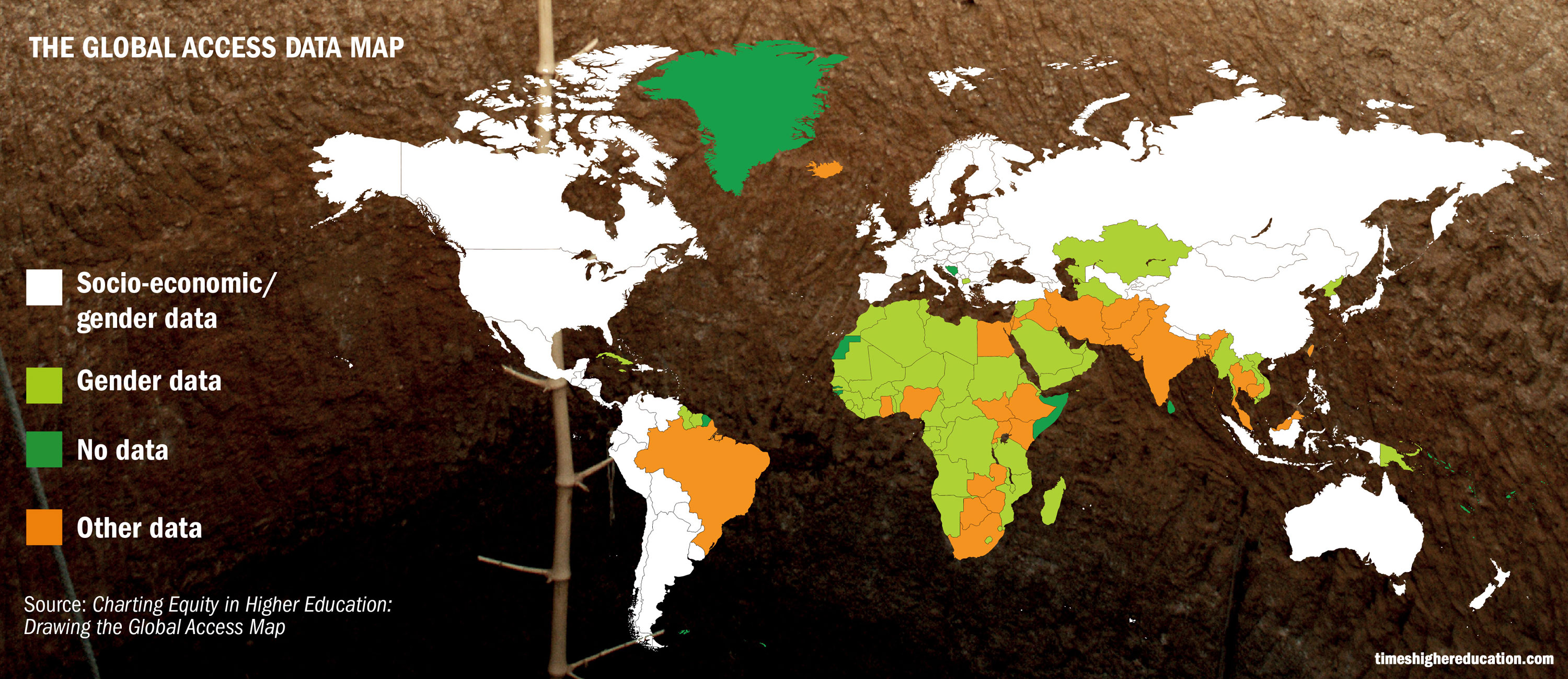 Global Map Of Higher Education Access Could Reshape Rankings THE - Education maps us