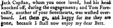 Extract from The New English Letter Writer 1785