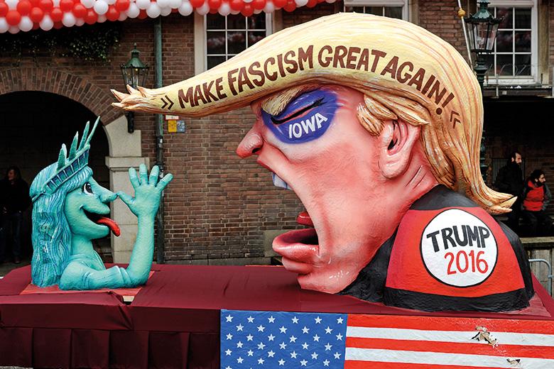 Trump float