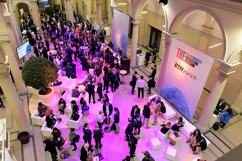 Crowd shot at the World Academic Summit