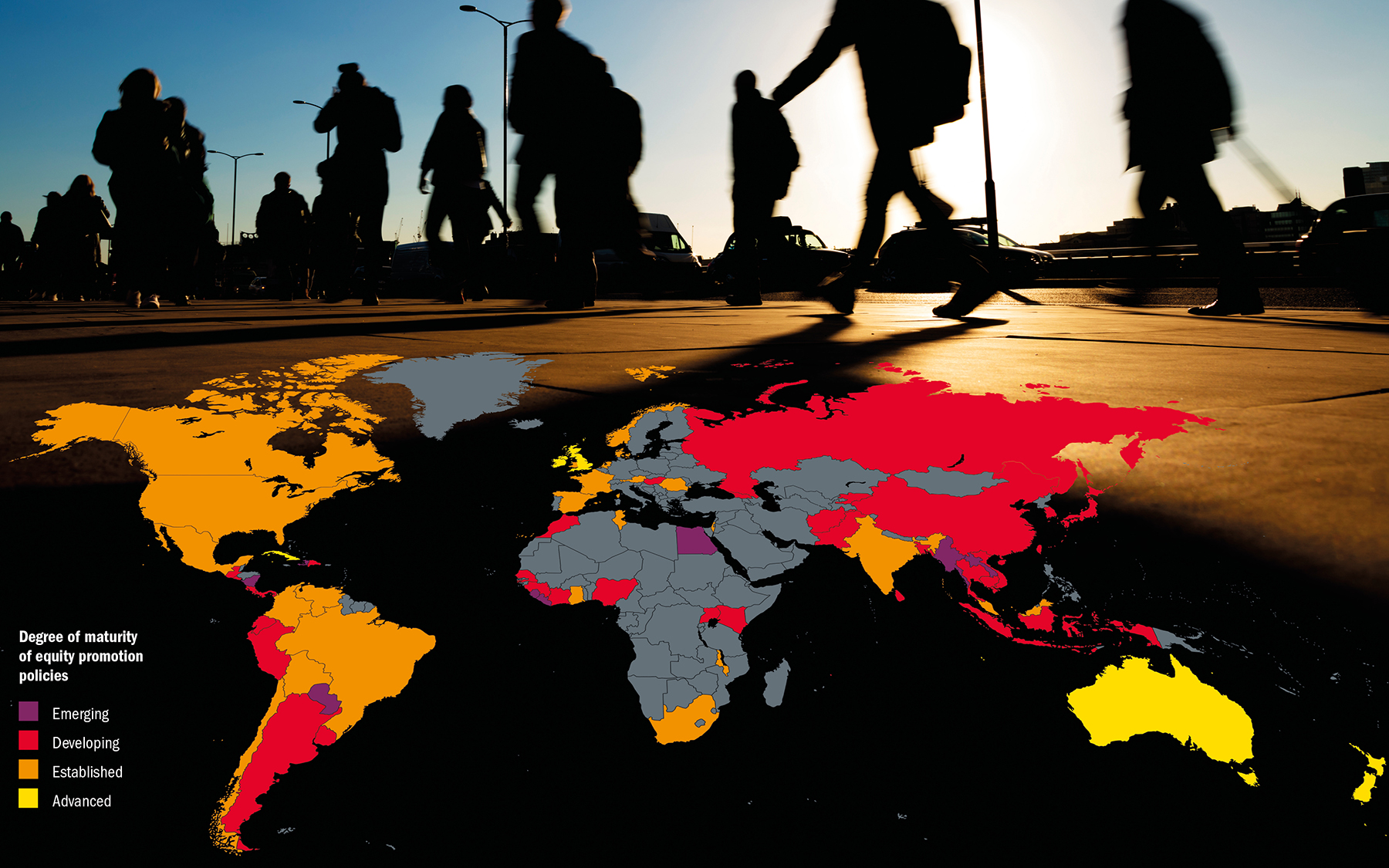 Which countries are best at widening access to higher