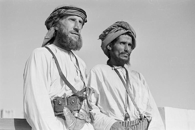 Wilfred Thesiger and Musallim bin Al Kamam, Dubai