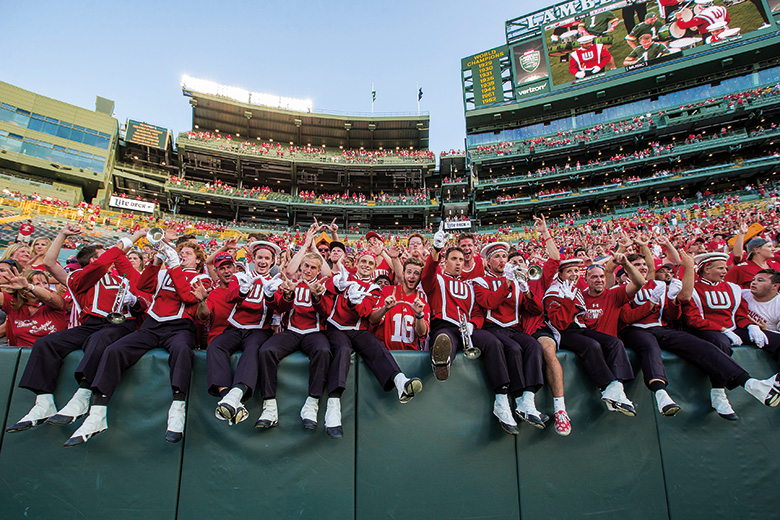 Wisconsin Badgers supporters
