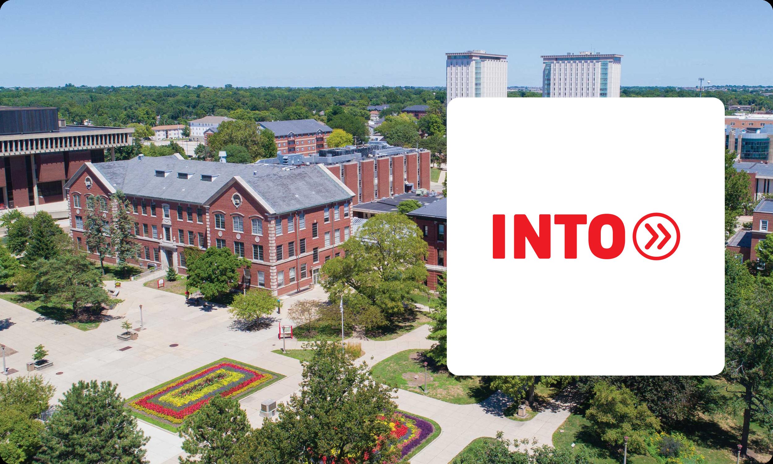 INTO University Partnerships Logo Banner