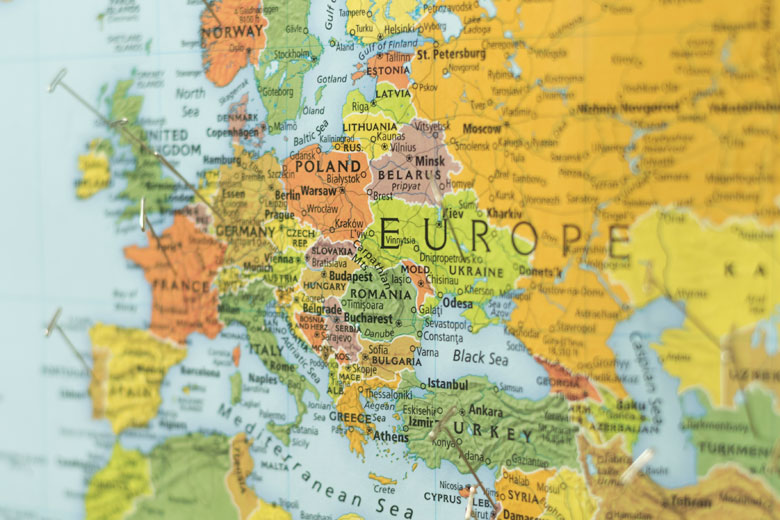 map of central europe 2017 Best universities in Europe | Student