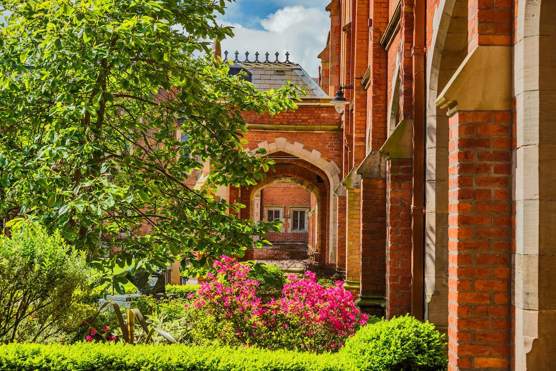 Queens University Belfast - most beautiful universities in the UK