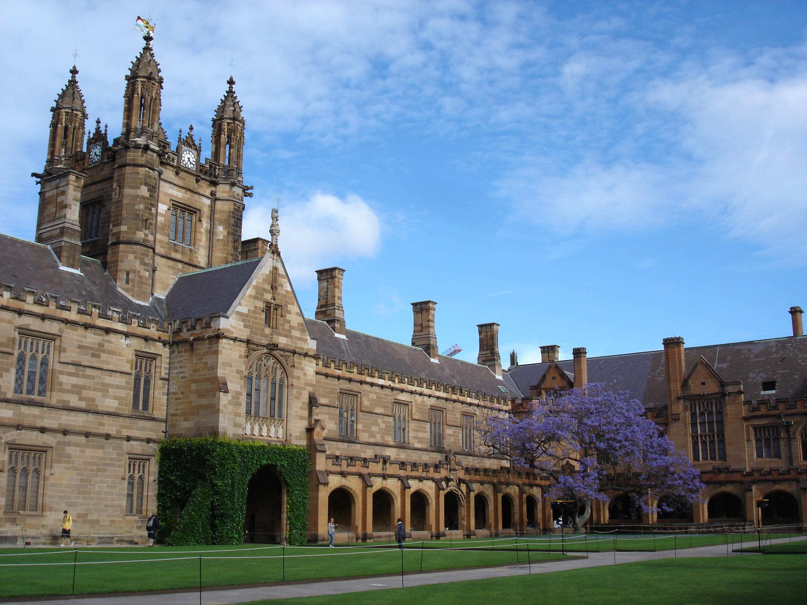Most beautiful universities in Australia - Sydney
