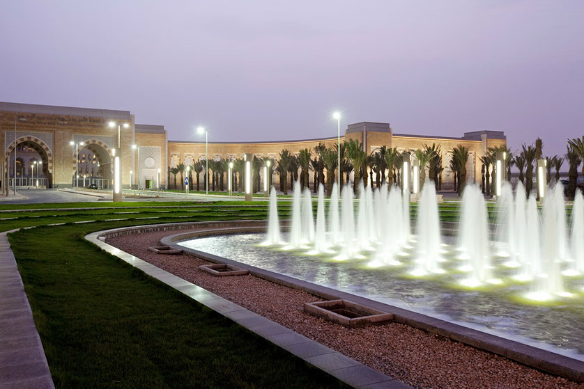 PNU fountains