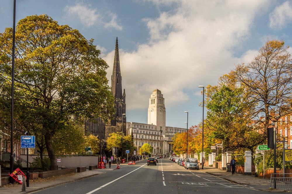 University of Leeds minisite