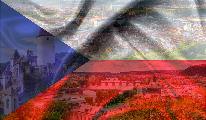 Czech landing page