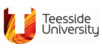 TEESSIDE UNIVERSITY MIDDLESBROUGH logo